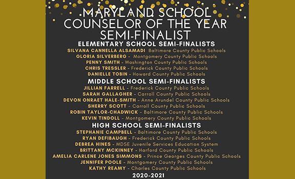 .13 MSCA Finalist and Semi-Finalist